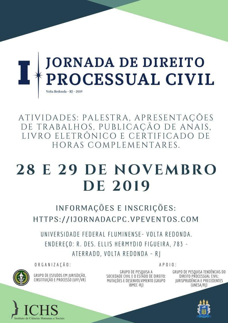 I Jornada de Direito Processual Civil