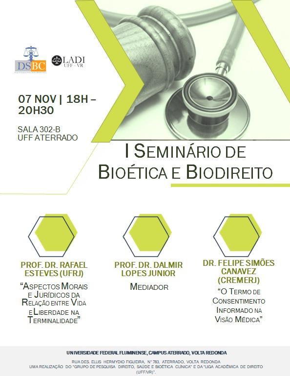 I Seminário de Bioética e Biodireito